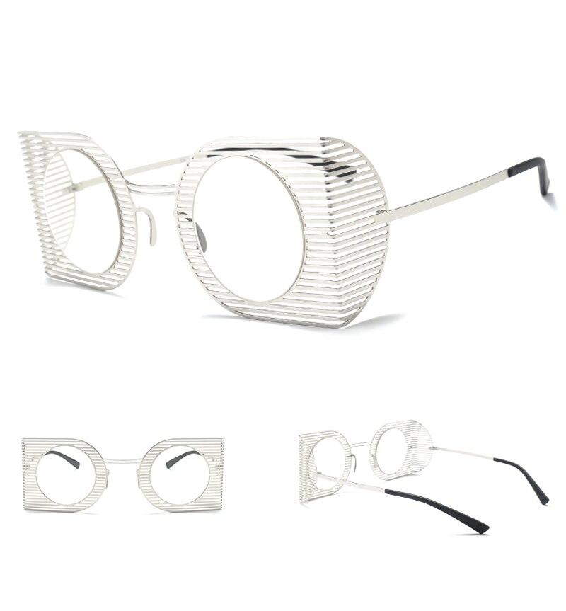 mens shield sunglasses women round black 7106 details (5)