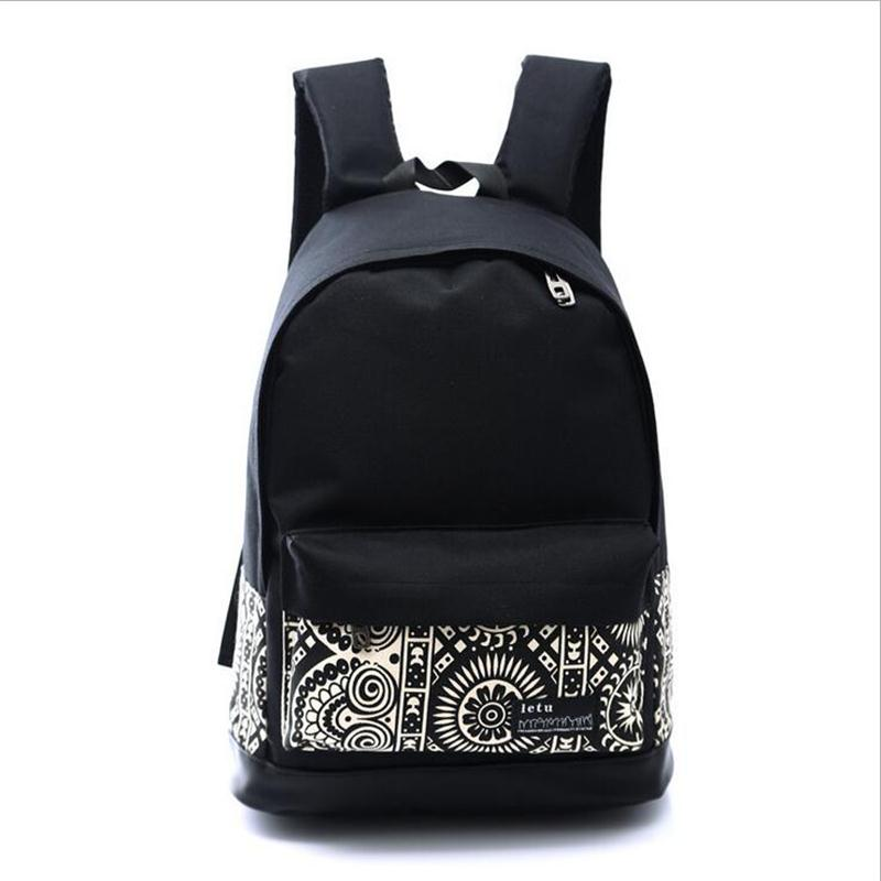 Canvas women Bag Mochila Feminina Kpop Vogue Star!2016 New Chinese Style School Mens Travel printing backpack <br><br>Aliexpress