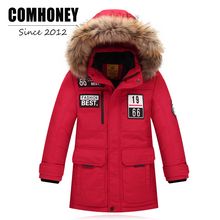 Children Winter Jackets for Boys Girls Duck Down Jacket 7-14T Baby Snowsuit Parka Big Boy Warm Thick Coat Teen Baby Outerwear