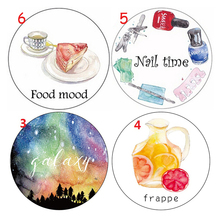Frappe Jewel Galaxy Girl 7M Washi Paper Tape Paper Masking Tape Memo Pad Washi Tape Lot Escolar Papelaria Kawaii Stationery