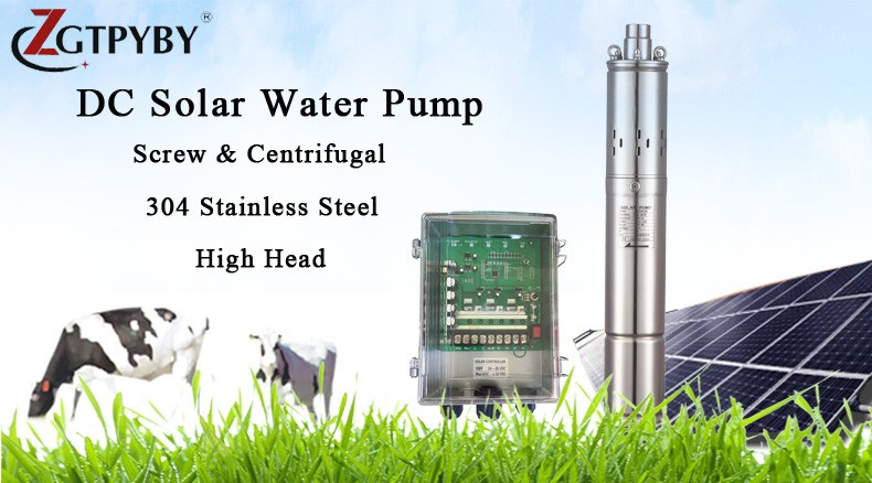 tittle screw pump
