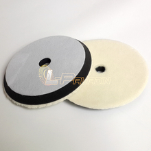 "7"" *160mm Japanese Short Wool Sponge Polishing Buffing Wheel Car Paint Surface Fine Polishing"