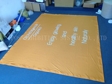 230gsm Advertising dye sublimation fabric hanging banners hanging banner for promotion