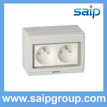 2014 Hot Sale High performance electric outlet waterproof 20A 110-250V SP-1FR(China)