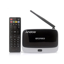 Andoer CS-918T 2G RAM 16G ROM Smart Android 4.4 TV Box Rockchip RK3128 Quad Core ARM Cortex A7 2.4G WiFi BT 4.0 HD Media Player(China)