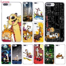 The Complete Calvin and Hobbes Hard Coque Shell Phone Case for Apple iPhone 7 7 Plus 6 6S Plus 5 5S SE 5C 4 4S Clear Back Cover