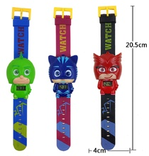 Pj Cartoon Masked Watch Catboy Owlette Gekko Cloak Characters Pajamas Action Toy Figure For Kids Boys Birthday Party Gift(China)