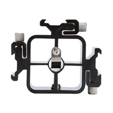 Swivel Triple Head Hot Shoe Mount Adapter Umbrella Bracket Holder Flash Light Stand