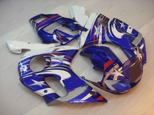 Body Kits YZF R6 00 01 Fairings for YAMAHA YZFR6 01 02 1998 - 2002 Blue White STAR Bodywork YZFR6 01 02