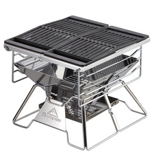 durable rectangle enamel grill pan/with oil tank Surface vegetable oil treatment bbq cast iron grills