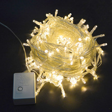 220V EU / 110V US Plug 10M RGB LED String Light holiday light Waterproof Christmas Wedding Party Decoration Lights outdoor