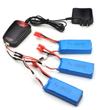 Buy High 5pcs 7.4V 2000mAh Battery 1 3 Balance Charger US Plug Syma X8C X8W X8G X8HC X8HW X8HG RC Models Quadcopter for $50.49 in AliExpress store