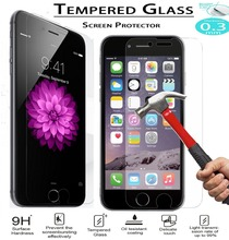 0.33mm 9H Tempered Glass Film sFor iPhone 6S 6 / 6Plus 6S Plus / 5S 5C / 4S 4 Screen Protector 2.5D Round Edge For iPhone Model
