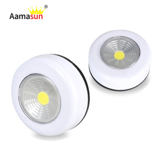Led Bulb Lamp Under Cabinet Lights Nightlight Touch Control Sensor Furniture Cupboard Kitchen Wardrobe Drawer No Battery 3* AAA()