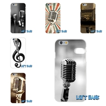 For Xiaomi Redmi 3 3S Pro Mi3 Mi4 Mi4C Mi5S Note 2 4 Old School Style Microphone Music Soft Silicone Cell Phone Case