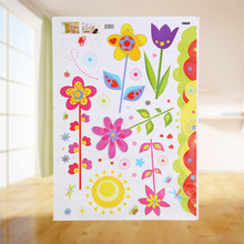 W DIY Wall Sticker Flower Butterfly For Kids Rooms Decorative Adesivo De Parede Pvc WallPaper Decal