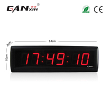 [Ganxin]1.8'' 6 Digits Good Price And High Quality Digital Red Led Clock with Factory Price