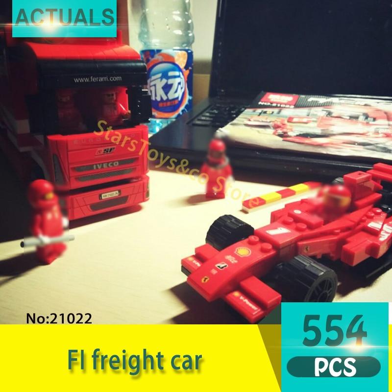 Lepin 21022 554Pcs Technic Series FI freight car Model Building Blocks Set  Bricks Toys For Children  Gift 8185<br>