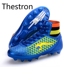 Football Shoes Men 2017 Kids Children Women Soccer Shoe Cheap High Top Soccer Cleat New Arrival Football Boot Professional Sport(China)
