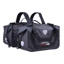 Motorcycle Waterproof Bag Tank Bags Kit Knight Rider Multi-Function Portable Bags Luggage Universal Saddle Bag for Yamaha etc(China)