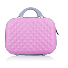 Travel Cosmetic Bag Women Fashion Diamond Portable Vanity Case Female Big capacity Makeup Storage Box Korea Suitcase Cosmetic