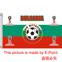 2018 Russia Football World Cup Bulgaria National Team 3ft*5ft (90*150cm) Size Decoration Flag Banner