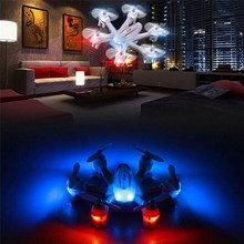 MJX X901 2.4G 4CH 6-Axis Remote Control RC Helicopter Quadcopter 3D Roll RC Drone Flying Toy with Night Light(China)