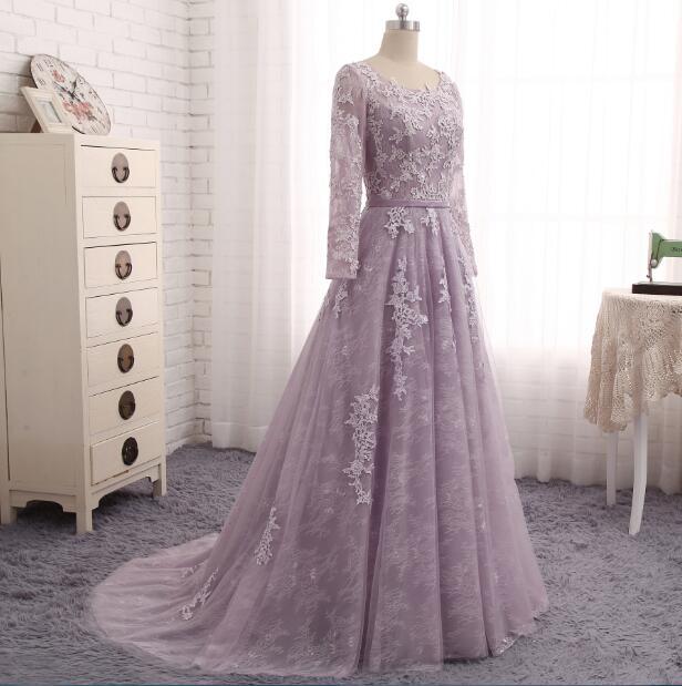Shop cheap Light Purple Evening Dress  Formal Party Gown online