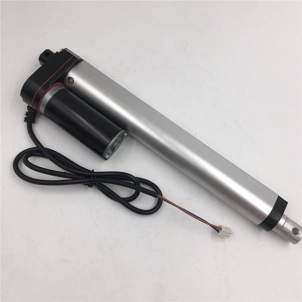 80mm Stroke Electric Linear Actuator 3 Inch 330LB Max Lift 150KG DC 24V for Stage Machinery<br>