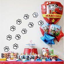Kids Birthday Canine Patrolling Party Foil Balloons Bouquet Decoration Centerpieces Anniversary Puppy Dog Party Paw Helium Decor