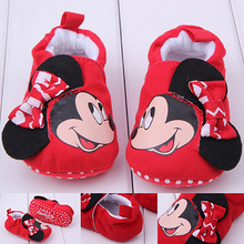 2018 New Baby Infant Shoes 0-18M Boys Girls Casual Shoes Soft Cartoon High Quality Spring Autumn Fashion Baby First Walkers Cute(China)