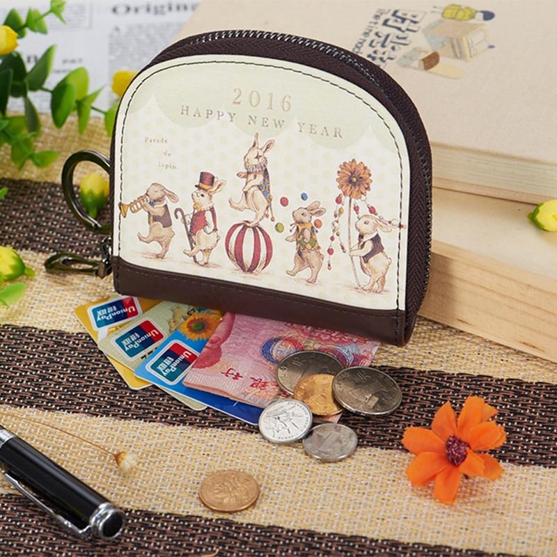 Cartoon Girl Style Coin Purses Children Wallet Rabbit Circus Zipper Hobos Mini  Bag Iphone Holder Cash Bag<br><br>Aliexpress