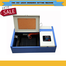 40W CO2 Laser Engraving Machine TS2030 with USB Sport 110/220V 200*300mm working size laser engraver