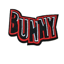 Hot sale embroidery BUNNY logo iron on patch for clothes deal with it sticker flower patches for clothing badges free shipping