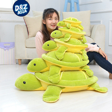 Simulation turtle plush toy turtle pillow cushion floor mat giant plush animals Christmas gift