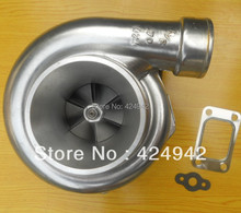 "GT35 GT3582R compressor A/R .70 A/R .82 T3 flange oil and water 3.5"" v-band 400-550HP turbocharger turbo Dual ball bearing(China)"