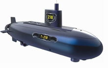 6 channel large remote control RC submarine nuclear submarine model toy boat toy Kids creative Toy educational toy best gifts