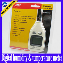 handle portable GM1362 digital thermometer price Digital  hygrometer manufacturer humidity thermometer 10pcs/lot