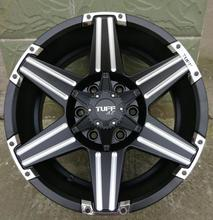 High Performance 4x4 SUV 17x9.0 6x139.7 Car Aluminum Alloy Wheel Rims(China)