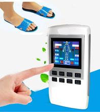 Health Care Electronic Tens Digital Therapy Machine Physiotherapy Acupuncture Pulse Body Massager +Slippers(China)