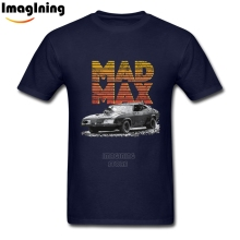 For Man Hilarious Mad Max 100% Cotton T shirt Big Size Custom Round Neck T-shirts Wholesale(China)