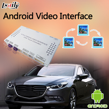 Car Gps Navigator System Android Video Interface for 2014-2016 Mazda 3 with WiFI Mirror Link Youtube Google MAP Play Store(China)