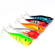 Colorful 9.5cm/12g Fishing Lures Popper Bass Poper Crank Bait Hard Lures Fishing Tackles
