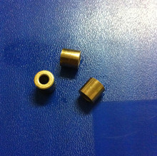 4*8*10mm  Copper base powder metallurgical parts Powder Metallurgy oil bushing  porous bearing  Sintered copper sleeve