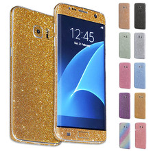 New arrival Luxury Bling Glitter Hard Back Film Case Cover for Samsung Galaxy S7  cheap price good quality