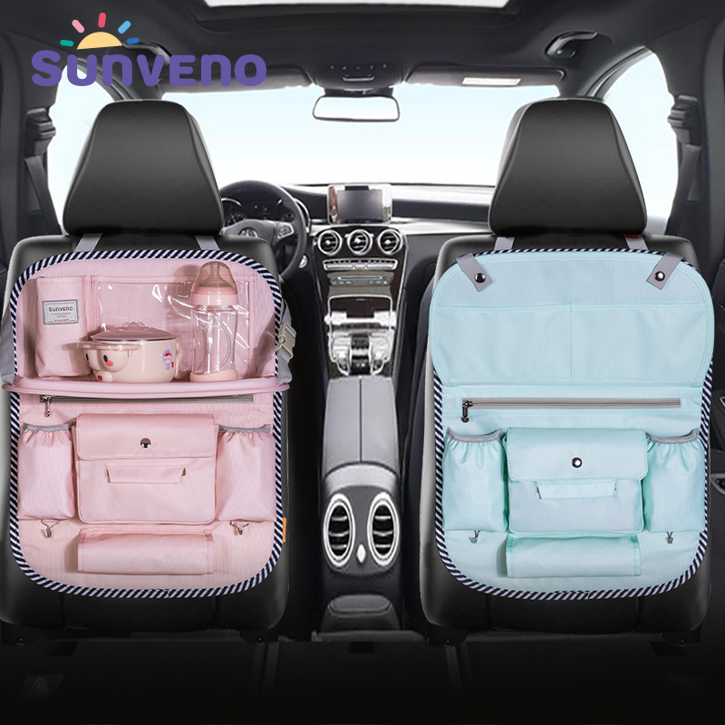 SUNVENO Organizer Holder-Accessory Storage-Bag Cloth Car-Seat Auto Multi-Pocket title=