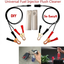 LARATH Universal Fuel Injector Flush Cleaner Adapter Kit SetAuto Car Vehicles Tool  fit for BMW VW AUDI A4 FORD TOYOTA  KIA LADA