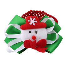 Cute Christmas theme snowman/Santa Claus/tree pattern headband for kids Hair Accessories Christmas Party Supplies YL975423