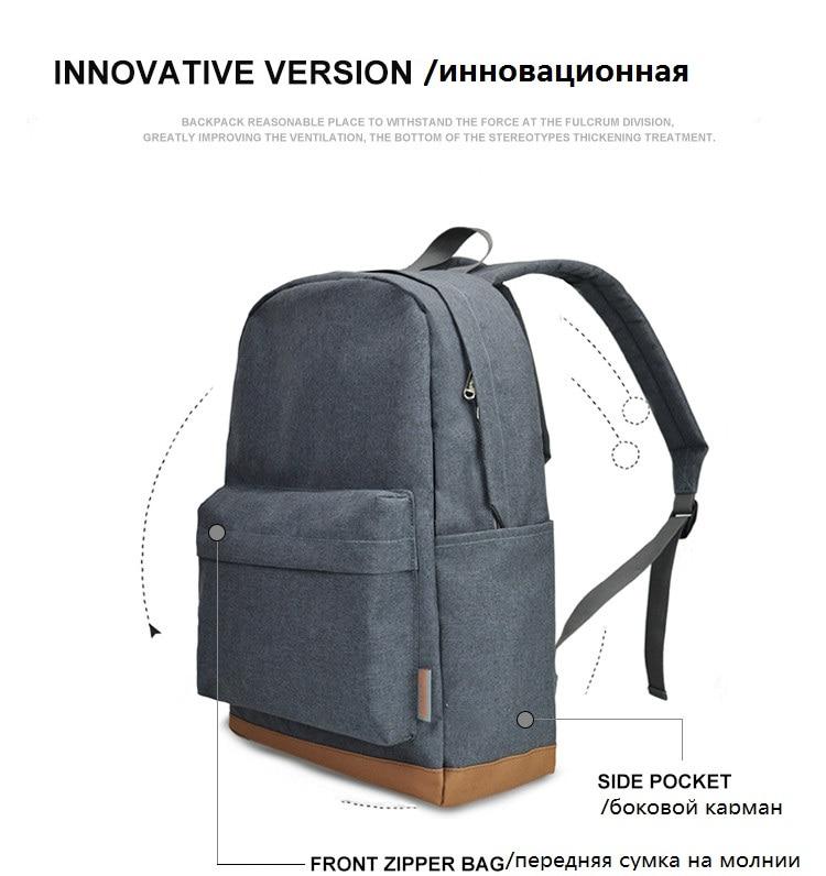 a grey backpack