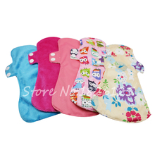 New Design Feminine Pads Eco-friendly Cloth Menstrual Pads Maternity Sanitary Pads Free Sgipping(China)